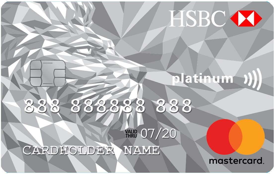 Mastercard Platinum Credit Card | HSBC AM